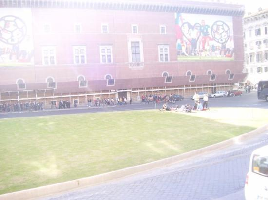 Bilde fra Piazza Venezia
