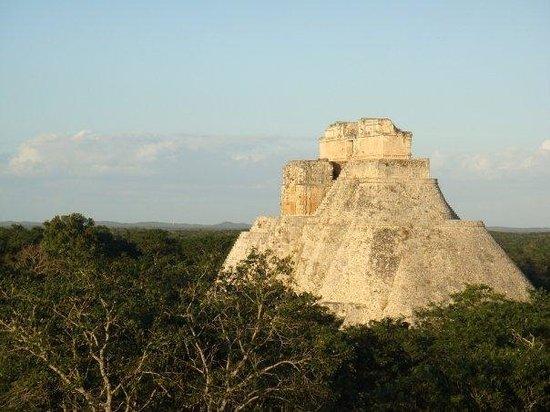 La pyramida de Uxmal