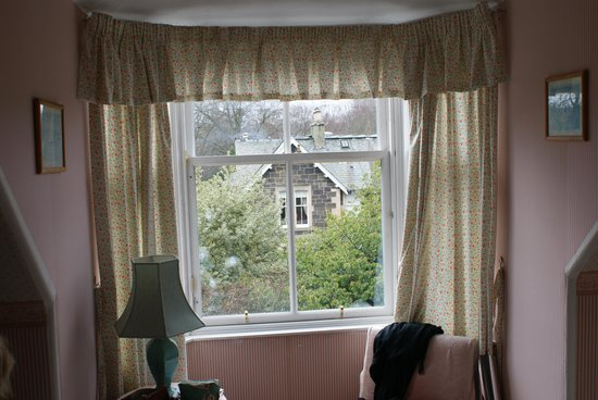 bedroom window Comrie Hotel