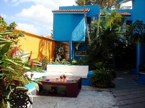 Villas Las Anclas: Courtyard area