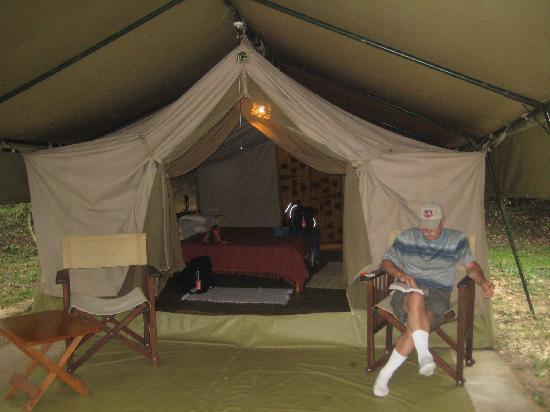 Ishasha Wilderness C& - Queen Elizabeth National Park Our private tent with solar lighting & Our private tent with solar lighting very comfortable bed and 3 ...