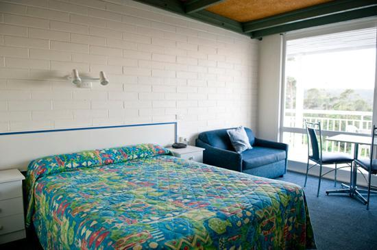 Merimbula, Australia: simple and clean room with a great view