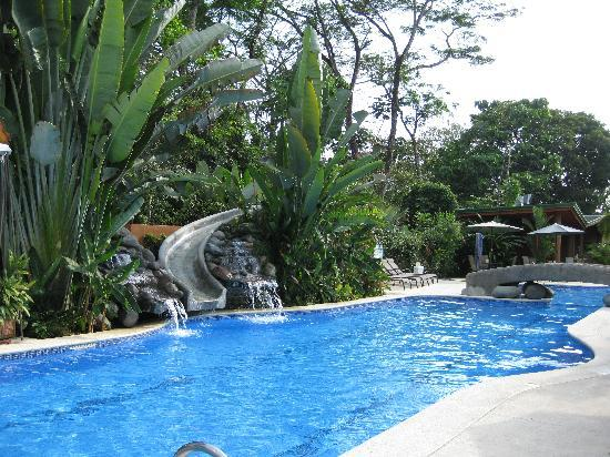 Club del Cielo Condo No 5 swimming pool with slide.JPG