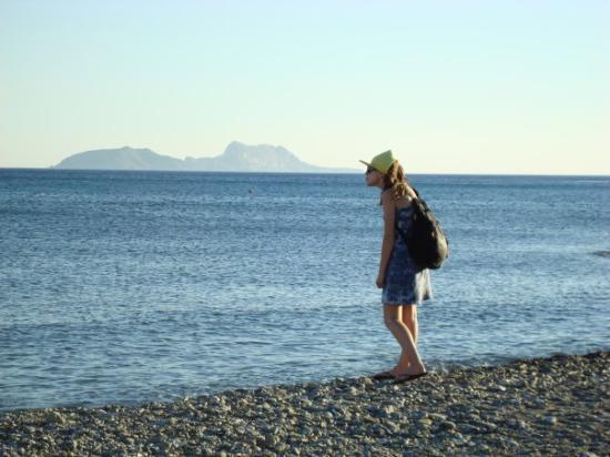 Crete, Greece: Check dat olifantvormige ding!
