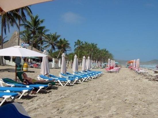 Playa El Agua på Isla Margarita.