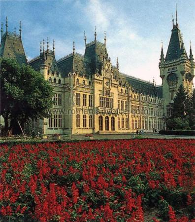 Palace of Culture Iasi...used to live across the street from this castle