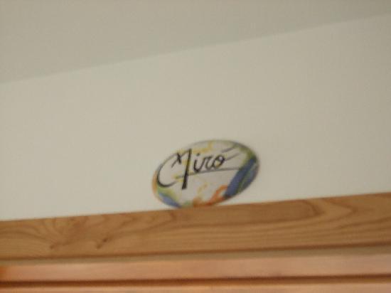 Nido Verde: mirò:il nome della nostra camera!!