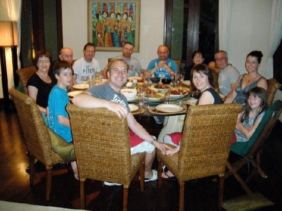 Balivillas.com Estate: dinner time