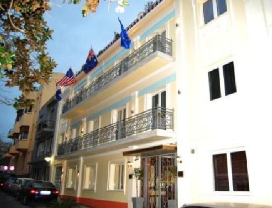 AVA Hotel Athens: Hotel exterior