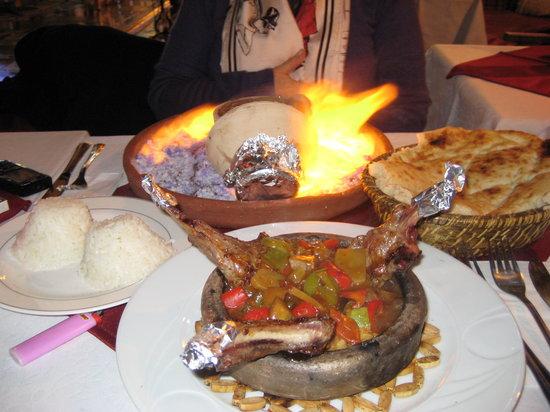 Istanbul, Turkey: cena tipica