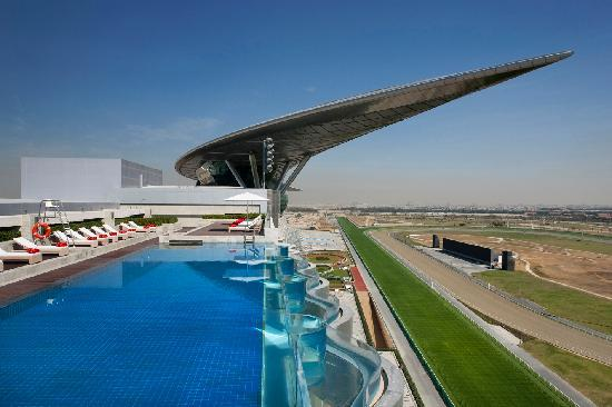 Rooftop Infinity Pool at The Meydan Hotel