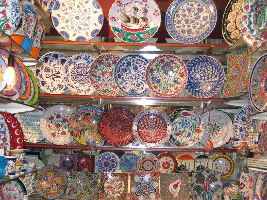 Istanbul, Turkey: gran bazar