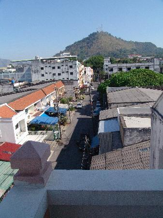 Sunwest GuestHouse: view from top floor balcony