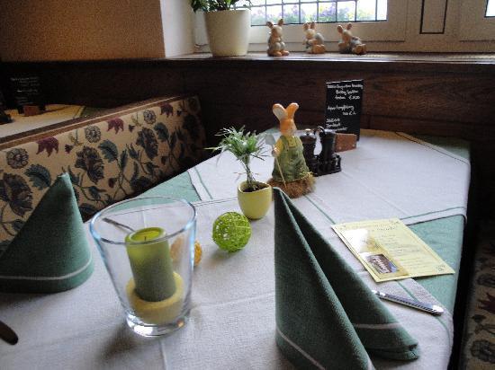 Igeler Säule: hotel's restaurant