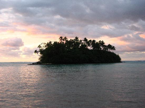 Aremango Guesthouse: The atoll in the lagoon