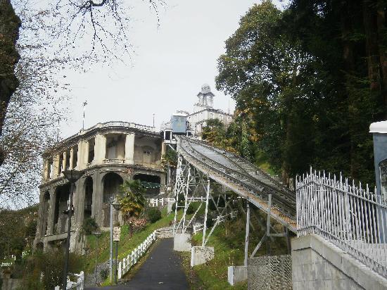Pau, France : Funicular