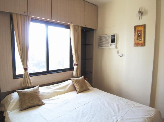 Satellite Serviced Apartments : Bedroom