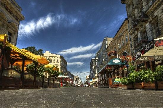 Piotrkowska Street: la via Piotrkowska
