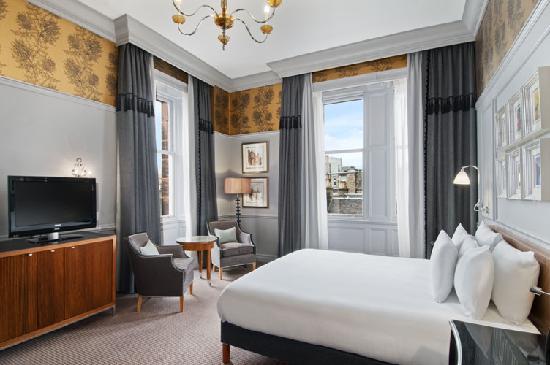 Deluxe Room Picture Of Waldorf Astoria Edinburgh The