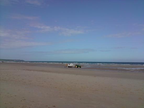 Le Capotel: plage de sangatte