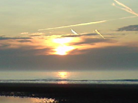 Le Capotel : coucher de soleil