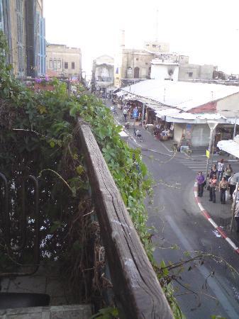 Old Jaffa Hostel : Blick aus dem Balkon