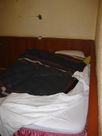 Mustafa Hotel: Room, one side