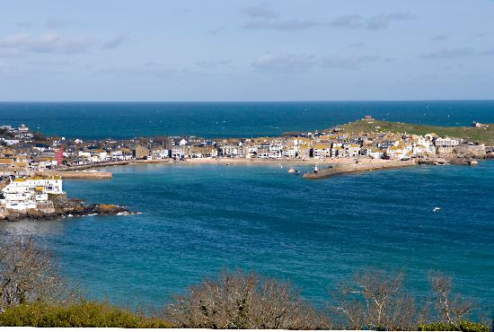 Shun Lee House: View of St Ives from the Raffles Suite