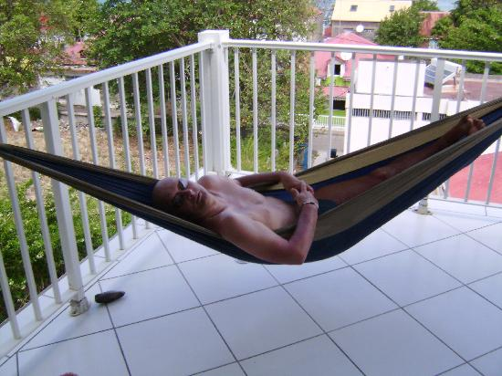 Residence Anse Caraibe: terrasse  anse caraibes