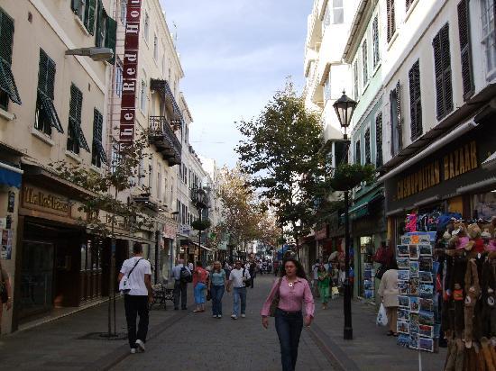 メインストリート ジブラルタル main streetの写真 トリップ