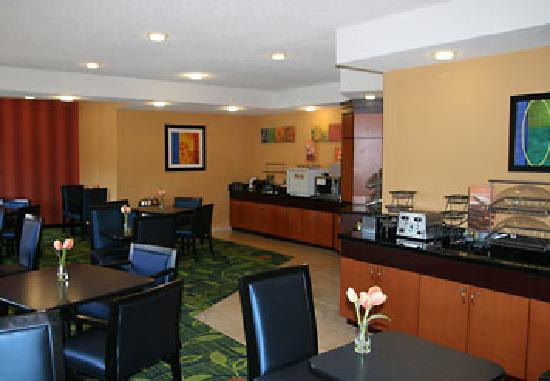Fairfield Inn & Suites Norman: Breakfast Area