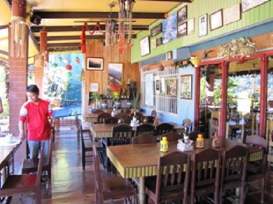 Sanafe Lodge: Restaurant