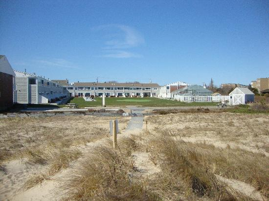 Dennis Port, MA: The resort from the beach