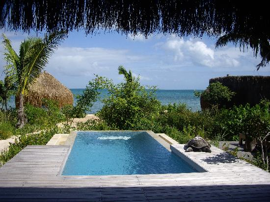 Azura Benguerra Island: view from my villa