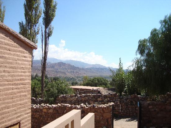Patio Alto: Una de las vistas al cerro...