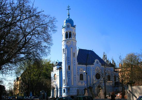 St.-Elisabeth-Kirche/Blaue Kirche: Blue Church, Bratislava