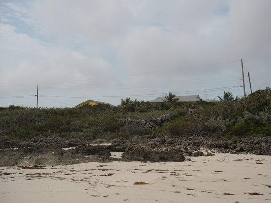 Breezy Hill Exuma Bahamas : View from the beach