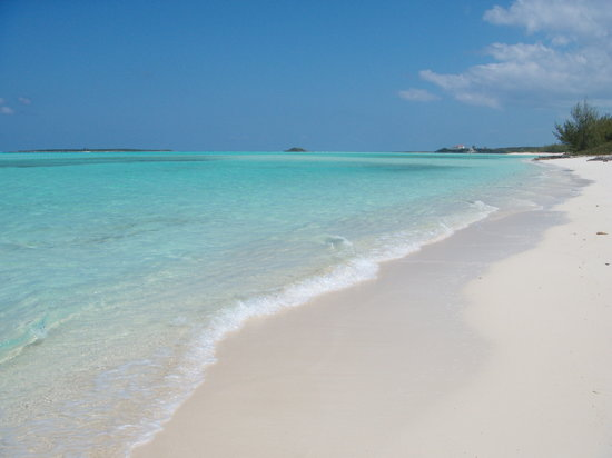 Breezy Hill Exuma Bahamas: Wonderful Coco Plum Beach