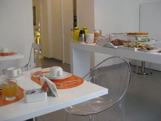 Palazzo Abagnale: comedor desayuno