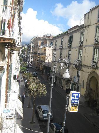 Palazzo Abagnale: vista desde habitacion