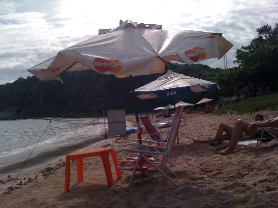 Tom Bombadil Pousada: Forninho beach-very awesome
