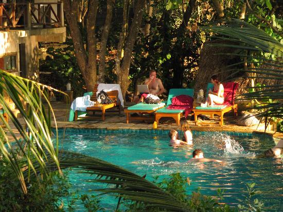 Narima Bungalow Resort: Relaxing round the pool