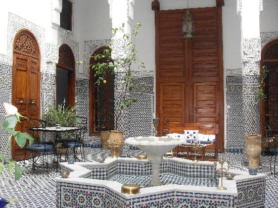 Dar Al Safadi: le patio