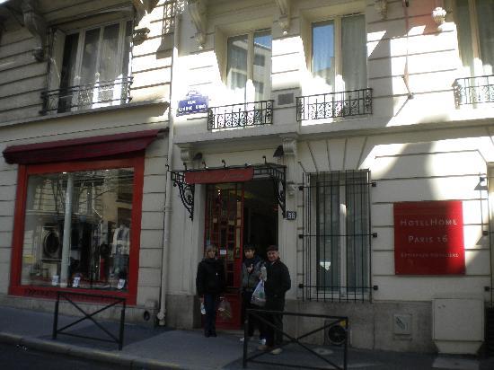 HotelHome Paris 16: esterno