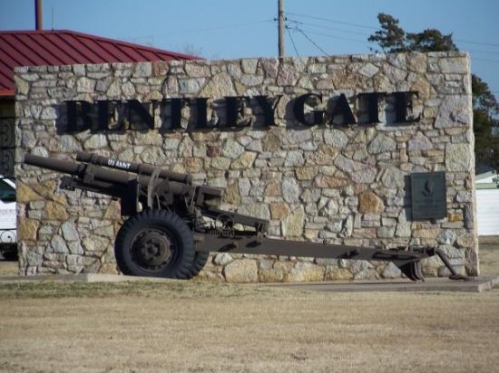 Bentley Gate At Fort Sill Ok Picture Of Lawton
