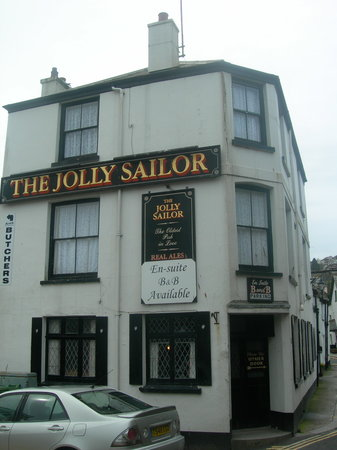 The Jolly Sailor Inn: L'ingresso