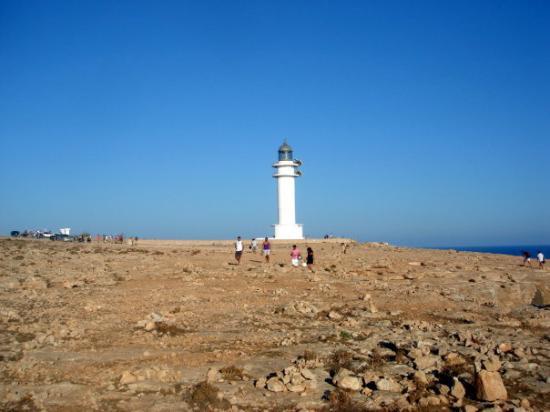 Es Cap de Barbaria Lighthouse ภาพถ่าย