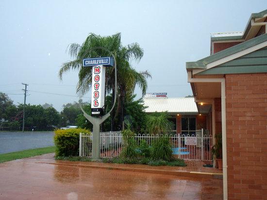 The Charleville Motel.