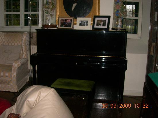 Pazo Cibran: El piano