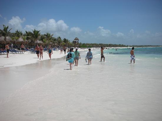 Grand Palladium White Sand Resort & Spa: beach at the resort